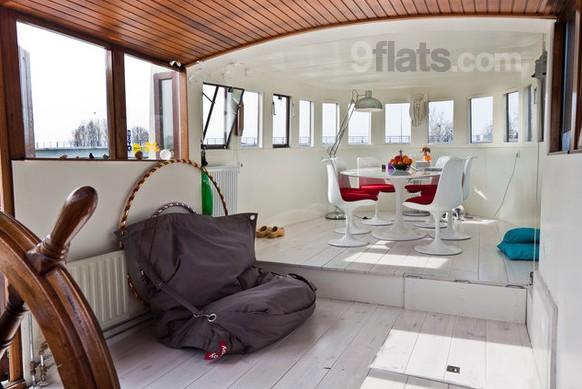 casa galleggiante amsterdam appartamento