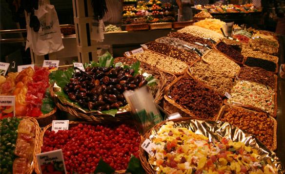 Mercato Boqueria Barcellona