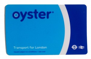 oyster card London