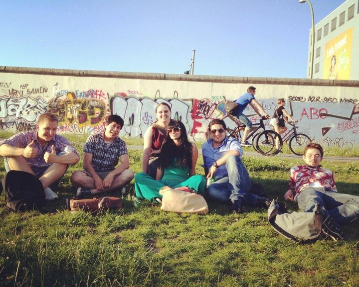 Members of the iStopOver team met 9flats in Berlin