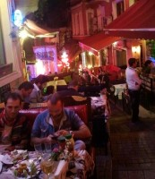 Windy alleyway, Istanbul