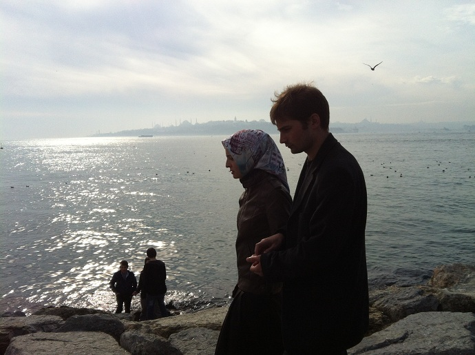 People watching in Istanbul